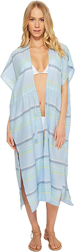 Echo Design - Sunset Stripe Midi Cover-Up