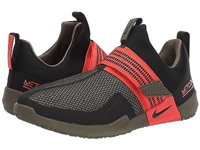 Nike Metcon Sport (Black/Black/Medium Olive/Team Orange) Men