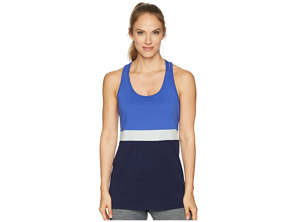 New Balance NB Athletic Novelty Tank Top (Blue Iris/Pigment) Women