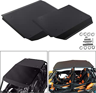 "ECOTRIC 1/4"" Hard Plastic RZR Roof Top for 2014+ Polaris XP4 XP 1000 900 Turbo 4 Seat"