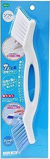 オーエ ブラシ 白 約縦25×5×1.7cm サッとる 目地ブラシ お風呂清掃
