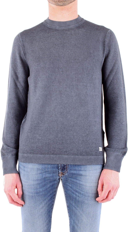 CP COMPANY Men's 06CMKN167A004128FGREY Grey Cotton Sweatshirt