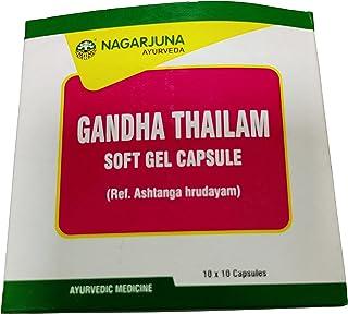 Nagarjuna Kerala Gandha Thailam Capsule 10 Tab x Pack van 4