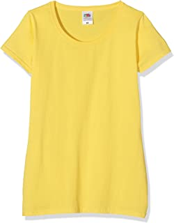 Fruit of the Loom Women's Valueweight Short Sleeve T-Shirt