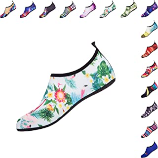 Water Sports Shoes Colorful Pattern Beach Swimming Surf Quick-Dry Aqua Socks Barefoot Yoga Anti-Slip Casual Shoes for Men Women