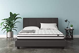 Ashley Furniture Signature Design - 8 Inch Chime Express Hybrid Innerspring - Firm Mattress - Bed in a Box - King - White