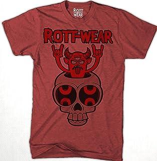 Devil Rocks Playera Hombre R Rott Wear