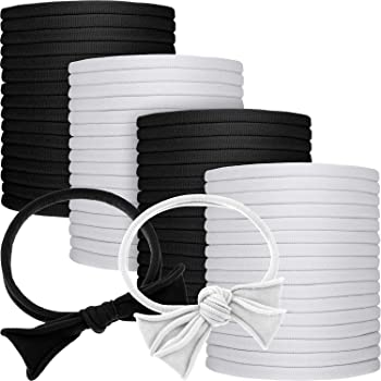 24 colours available bow making Pack of 5 Nylon Skinny Elastic Headbands