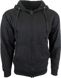 fe983231 Licensed-Mart Originals Mens Hipster Hip Hop Basic Zip-Up Hoodie  Lightweight Fleece Jacket