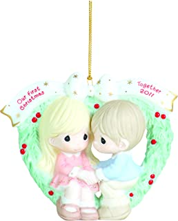 Precious Moments, 2011 Dated Ornament Our First Christmas Together