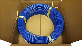 日本製線 高性能ギガビット伝送対応LANケーブル (Cat5e) 100m巻(青色) 0.5 - 4P NSEDT (BL) (100)