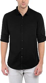 Dennis Lingo Men's Cotton Casual Shirt