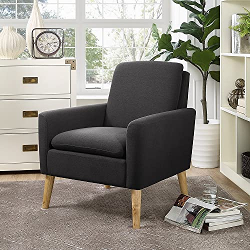 Fabric Black Living Room Accent Chairs Amazon Com