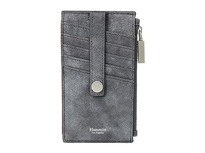 Hammitt 210 West (Slate Buffed/Brushed Silver) Handbags