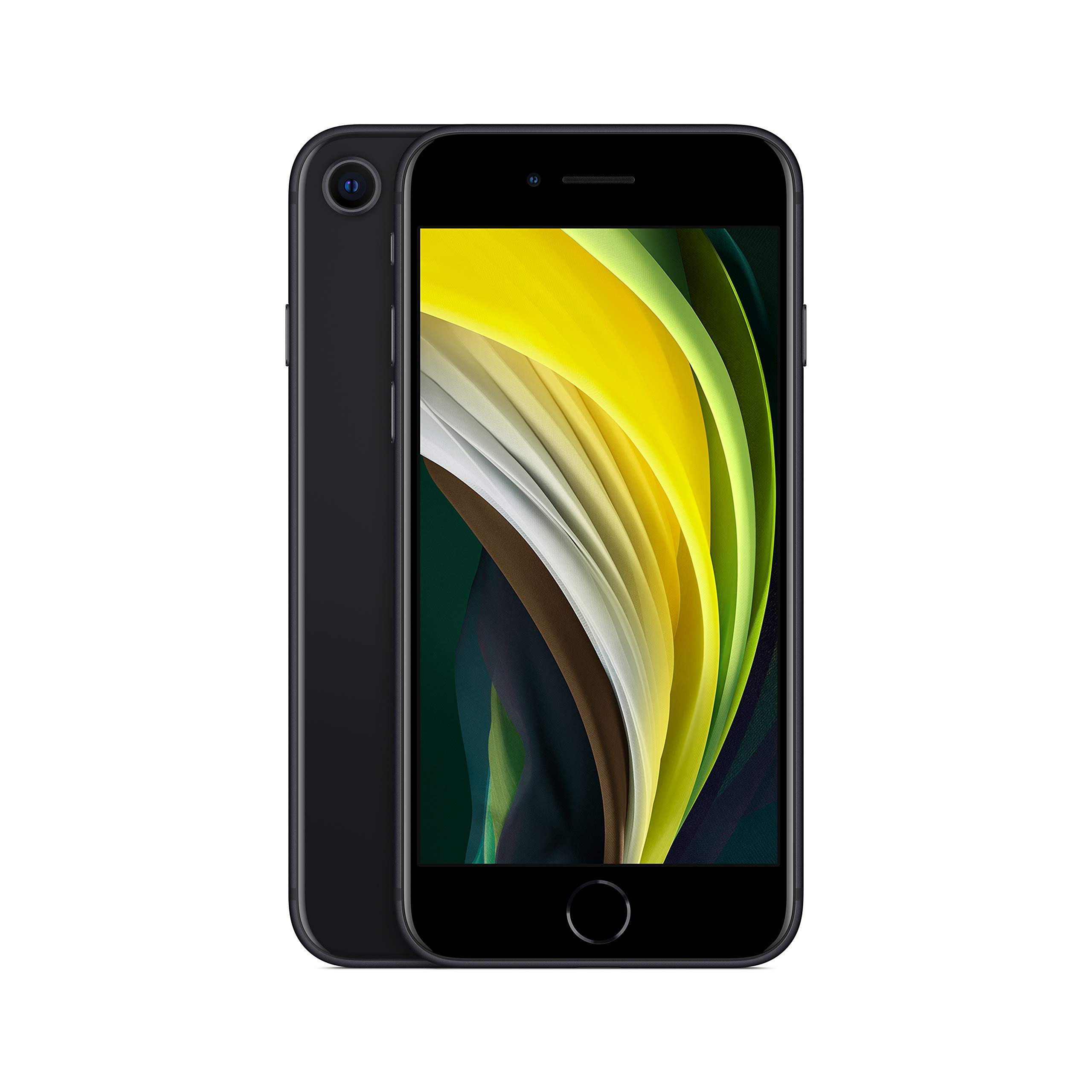 New Apple iPhone SE (64GB, Black) [Carrier Locked] + Carrier Subscription [Cricket Wireless]