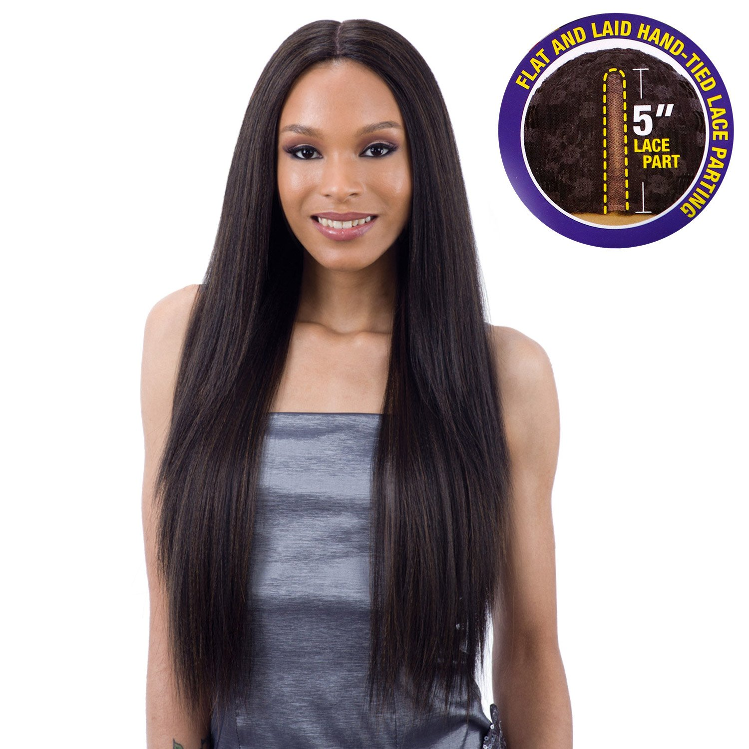 Freetress Equal 5 Inch Quality inspection Lace Wig VALENCIA Part 4 5% OFF