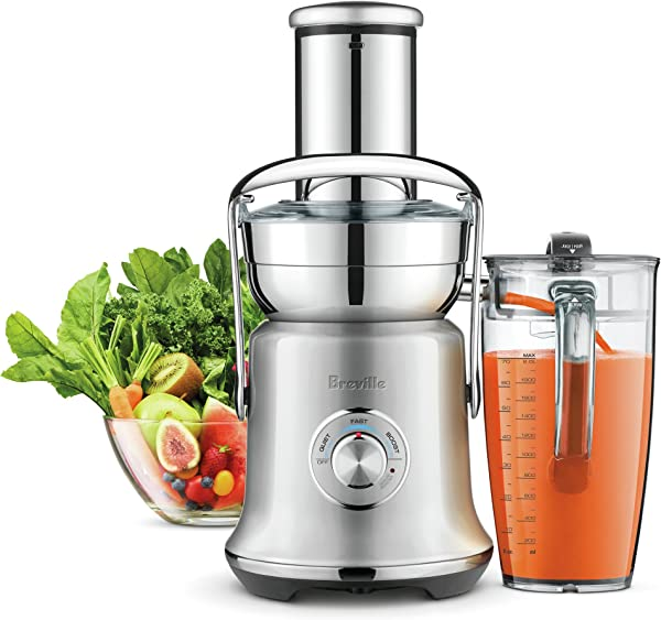 Breville BJE830BSS1BUS1 Juice Founatin Cold XL Brushed Stainless Steel Centrifugal Juicer