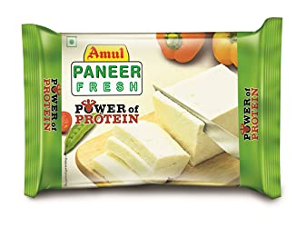 Amul Fresh Paneer Block Pouch, 200 g