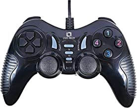 Live Tech Turbo Double Vibration Game Pad GP 01(Black)