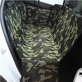 PETCUTE Hund Auto Sitzbezug Schondecken Haustiere Hundedecke Auto Hängematte Abdeckung Wasserdicht Hunde Autoschondecke mit Seitlichen Klappen