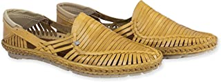 Men's Pure Leather Handmade Shoes Rey Natural
