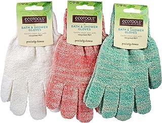 EcoTools, Bath & Shower Gloves, 1 Pair - 2pc