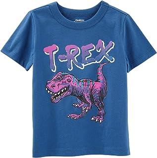OshKosh B'Gosh Little Boys' Originals Dinosaur Graphic, Blue