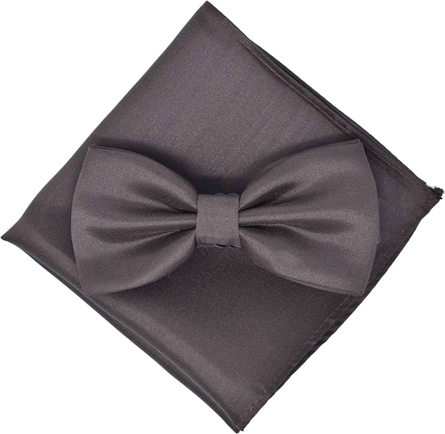 Bow Tie and Pocket Square Set By Kingsquare