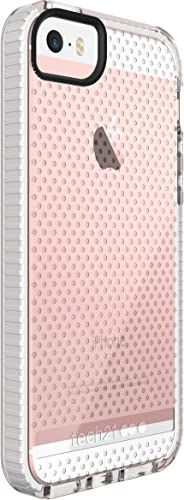 high quality Tech21 Evo Mesh for sale iPhone outlet sale 5/5s/SE - Clear/White outlet sale