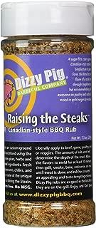 dizzy pig raising the steaks