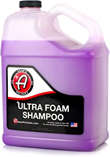 Adam's Ultra Foam Shampoo Gallon - Our Most Sudsy Car Shampoo Formula Ever - pH Neutral Formula for Safe, Spot Free Cleani...