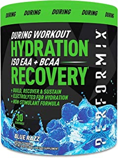 Performix ISO EAA + BCAA - 30 Servings - Branched Chain Essential Amino Acids and Essential Amino Acids - Electrolytes for Hydration and Recovery - Blue Razz