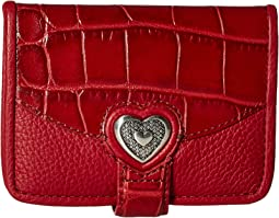 Brighton Bellisimo Heart Small Wallet