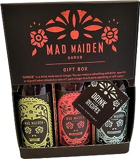 Mad Maiden Shrub Tasting Set - Shrub Gift Box