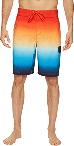 Spray Blend Ombre E-Boardshorts