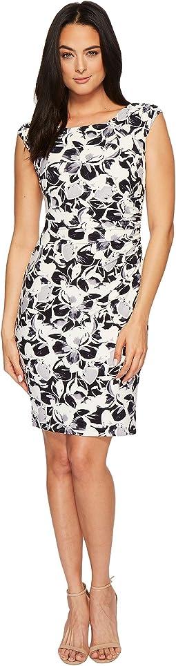 LAUREN Ralph Lauren - Koriza Montero Floral Matte Jersey Dress