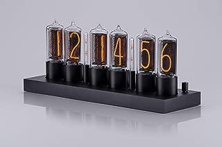 ZIN18 New Nixie Tube Clock Black Aluminium Case WiFi Android/iPhone Setup