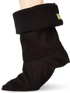 Western Chief Women Rain Boot Fleece Sock Liner, Black