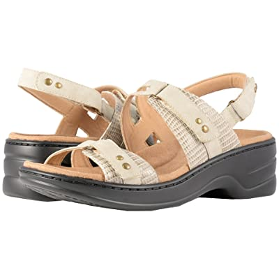 Trotters Newton (Beige/Off-White Man Made/Soft Leather) Women