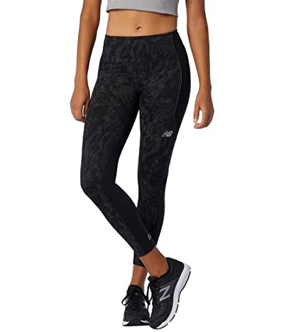 New Balance Reflective Impact Run Heat Tights (Black) Women