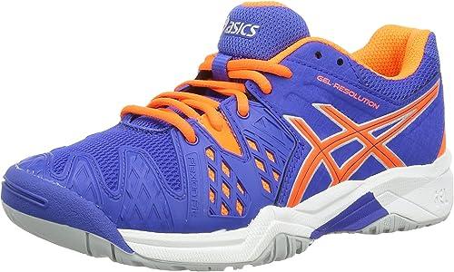 Asics Gel-Resolution 6 GS - Hauszapatos para Deportes de Exterior de sintético para Niño