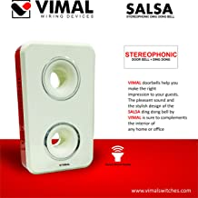VIMAL - B65 Salsa Stereophonic Ding Dong Door Bell