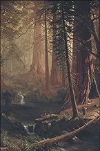 24x36 Poster; Albert Bierstadt - Giant Redwood Trees Of California 1874