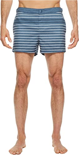 Feeder Stripe Fixed Volley Swim Trunks