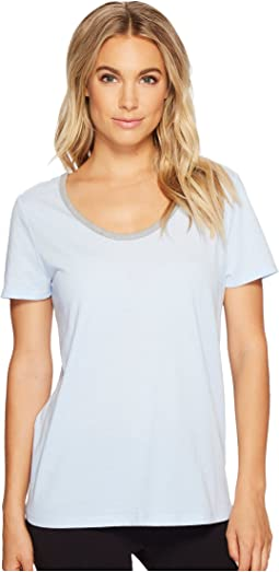 Jockey - Short Sleeve Top with Back Keyhole