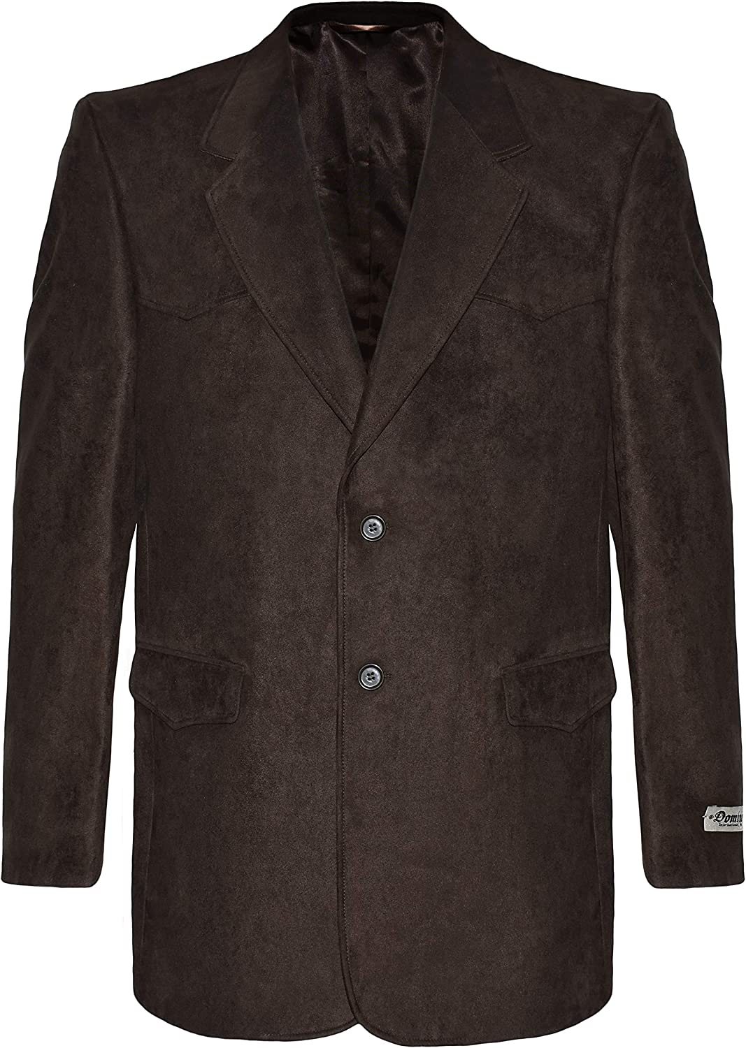 Victory Outfitters Men's Western Microsuede Two Button Sport Coat Blazer