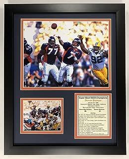 Legends Never Die NFL 1997 Denver Broncos Super Bowl XXXII Champions Framed Double Matted Photos, 12