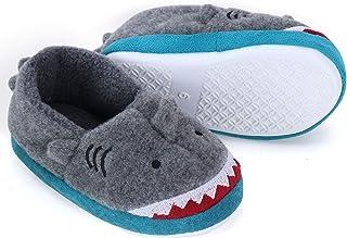 Dream Bridge Zapatillas de Felpa para Niñas Niños Zapatos de Peluche para Chicas