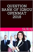 QUESTION BANK OF  IGNOU OPENMAT  2018