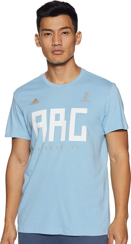 Amazon.com: adidas Men Tshirts Soccer Argentina Messi World Cup ...
